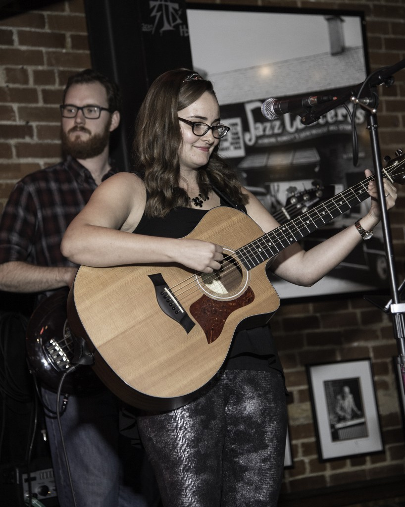 Bacon and Danielle Lighthouse Cafe Feb. 6, 2015 photo by dB L.A. Photo