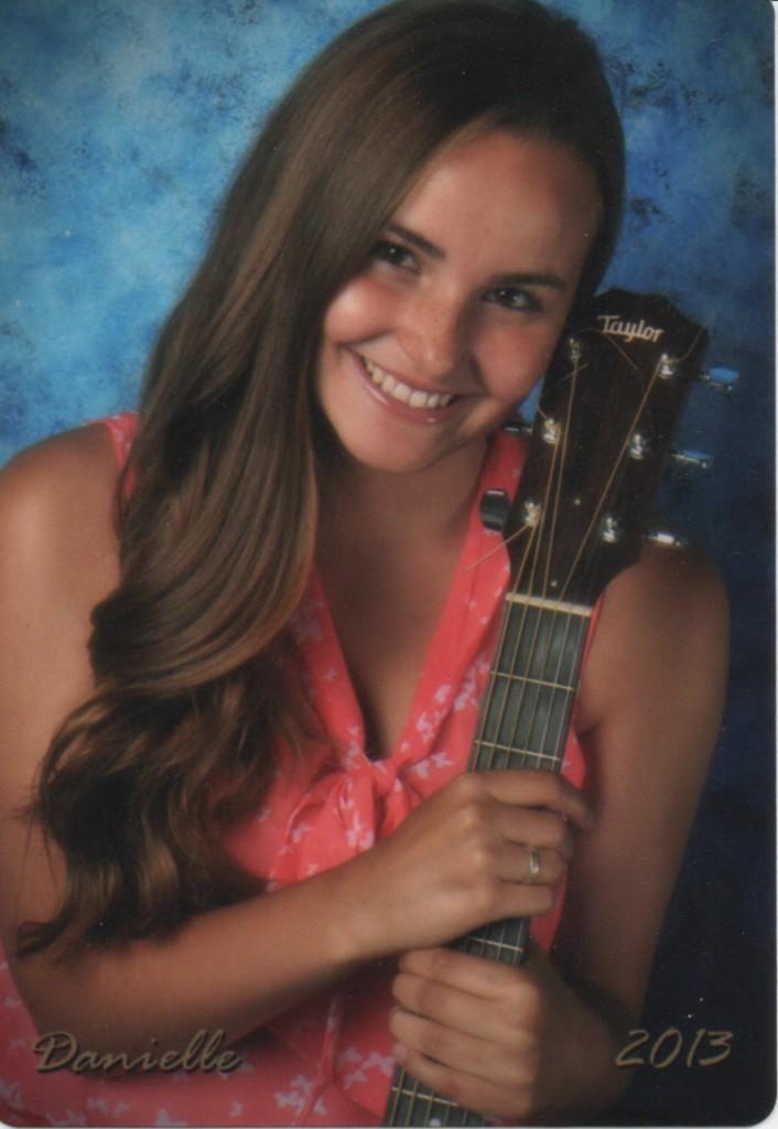 Danielle Heath with Guitar
