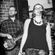 Bacon and Danielle Live on stage Lighthouse Cafe Feb. 6, 2015 photo by dB L.A. Photo