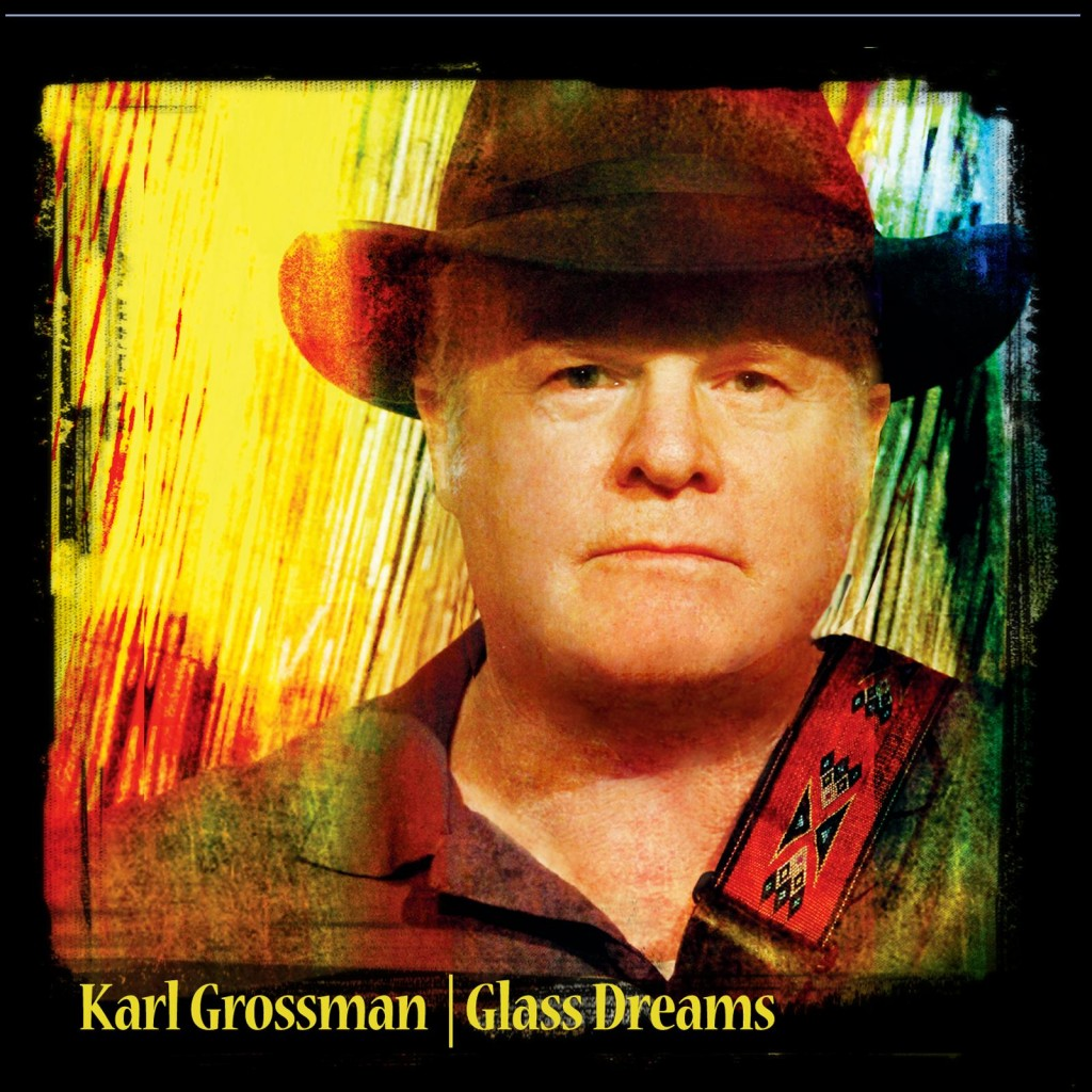 "Karl Grossman cover art for single release ""Glass Dreams"""