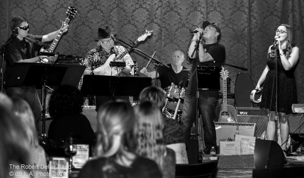 The Band Performs at Saint Rocke Nov. 22, 2014 by dB LA Photo