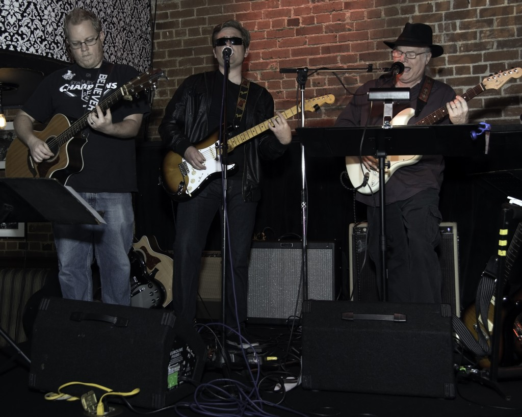 The Boys Brian, Mike and KG Live at The Lighthouse Cafe Release Party Feb. 6, 2015 photo by dB L.A. Photo