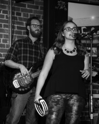 Bacon and Danielle Lighthouse Cafe Release Party Feb. 6, 2015 photo by dB L.A. Photo