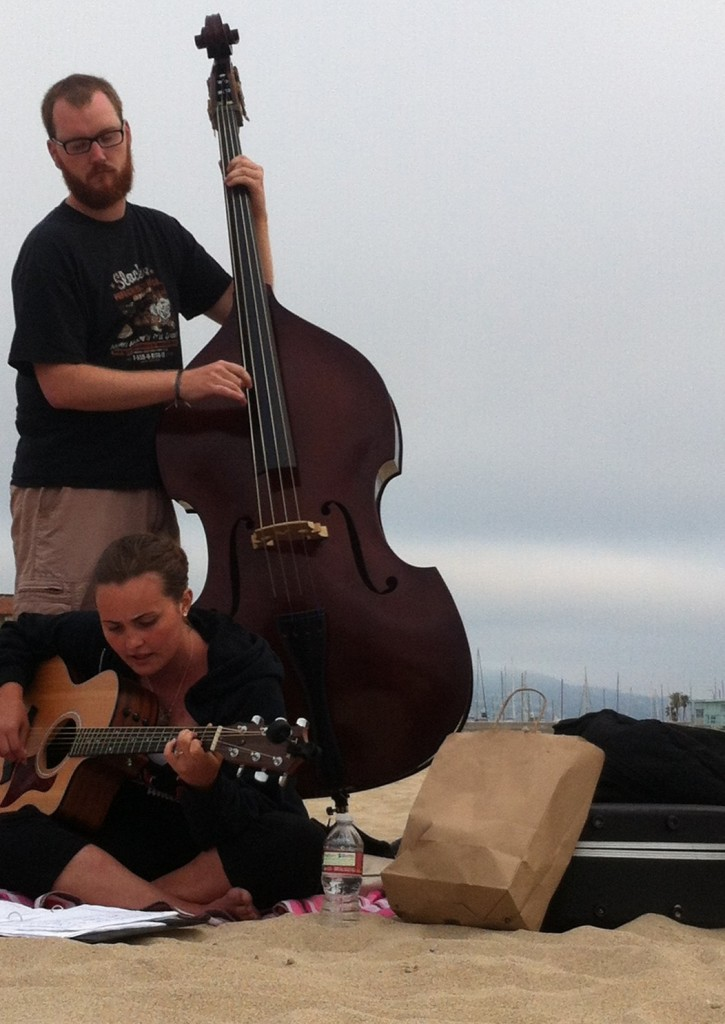 Bacon with Bass and Danielle Heath, Redondo Beach, CA July 2013