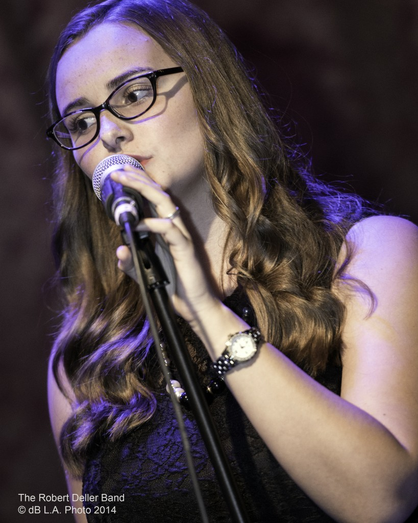 Danielle Heath performing at Saint Rocke Nov. 22, 2014 by dB LA Photo