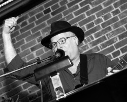 KG raising the bar Lighthouse Cafe Release Party Feb. 6, 2015 photo by dB L.A. Photo