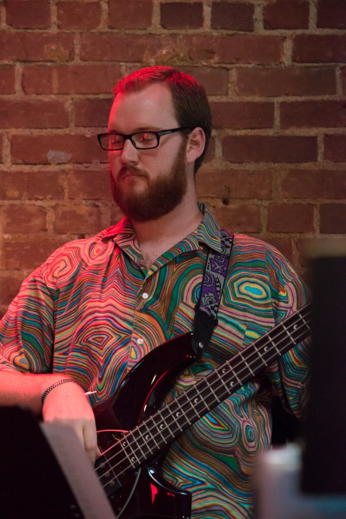 Andrew Bacon - Bass Live at The Lighthouse Cafe August 2, 2013