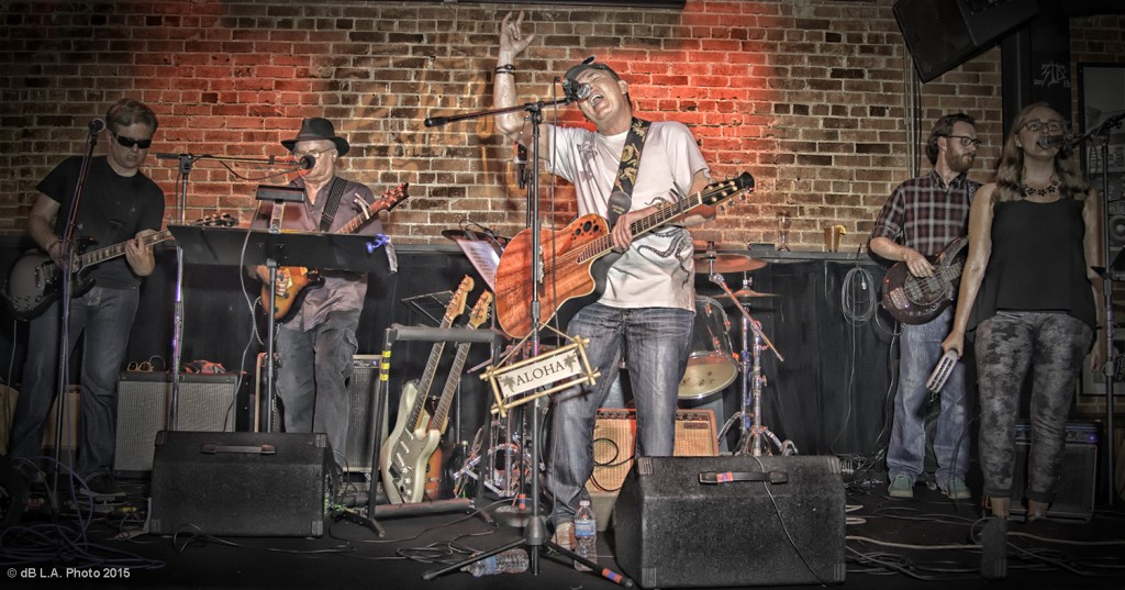 RD and Band at The Lighthouse Cafe, February 6, 2015 Album Release Party Photo by dB L.A. Photo