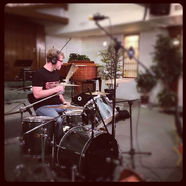 Robert Goodrich - Drummer - Recording