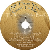 All That You Gave To Me 3rd album disk art